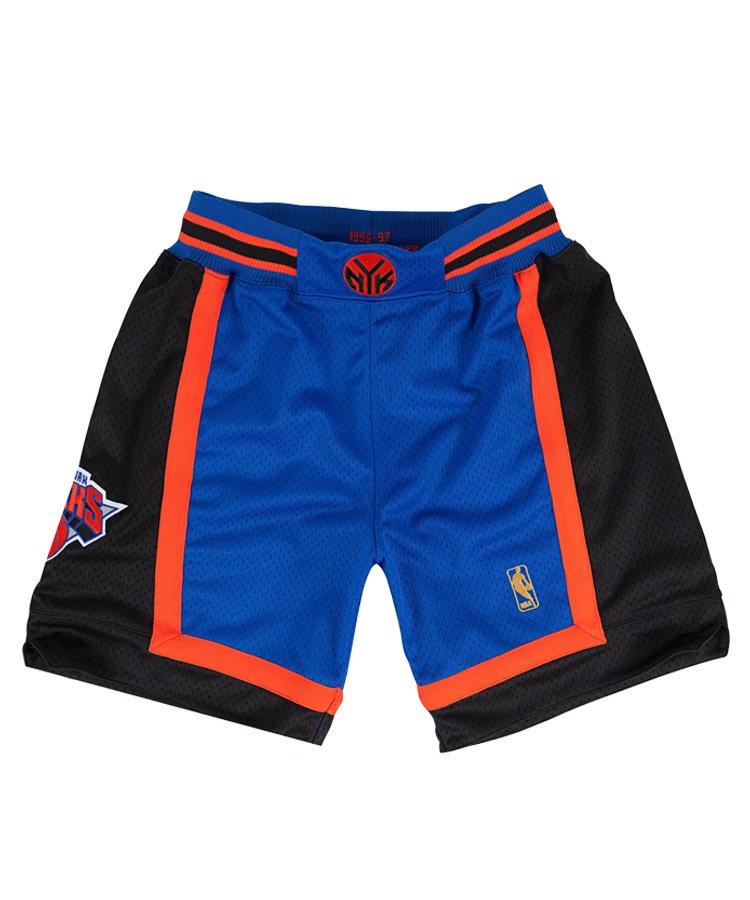 Authentic Shorts : New York Knicks Road 1996-97 / ロイヤル [ASHRGS18126-NYKROYA96]