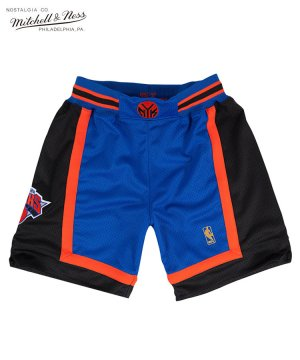 <img class='new_mark_img1' src='https://img.shop-pro.jp/img/new/icons5.gif' style='border:none;display:inline;margin:0px;padding:0px;width:auto;' />Authentic Shorts : New York Knicks Road 1996-97 / ロイヤル [ASHRGS18126-NYKROYA96]