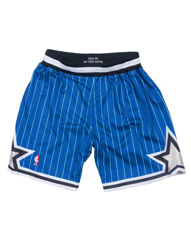 Authentic Shorts : Orlando Magic Road 1994-95 / ロイヤル [ASHRGS18127-OMAROYA94]