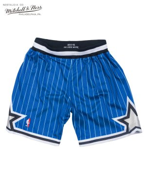 Authentic Shorts : Orlando Magic Road 1994-95 / ロイヤル [ASHRGS18127-OMAROYA94]