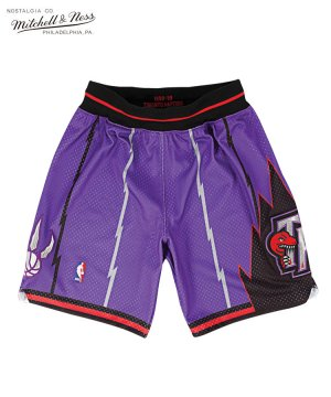 <img class='new_mark_img1' src='https://img.shop-pro.jp/img/new/icons5.gif' style='border:none;display:inline;margin:0px;padding:0px;width:auto;' />Authentic Shorts : Toronto Raptors Road 1998-99 / パープル [ASHRGS18134-TRAPURP98]