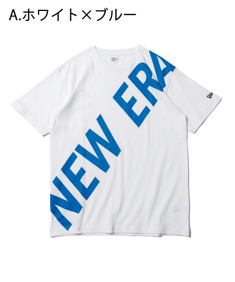 <img class='new_mark_img1' src='https://img.shop-pro.jp/img/new/icons61.gif' style='border:none;display:inline;margin:0px;padding:0px;width:auto;' />半袖 コットン Tシャツ ズームアップニューエラ レギュラーフィット / 3カラー