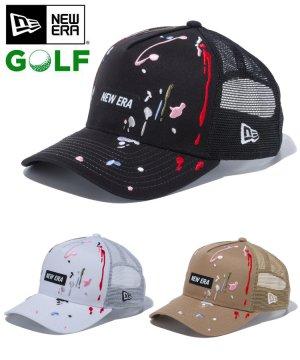 【ゴルフ】 9FORTY A-Frame トラッカー スプラッシュエンブロイダリー ボックスロゴ / 3カラー