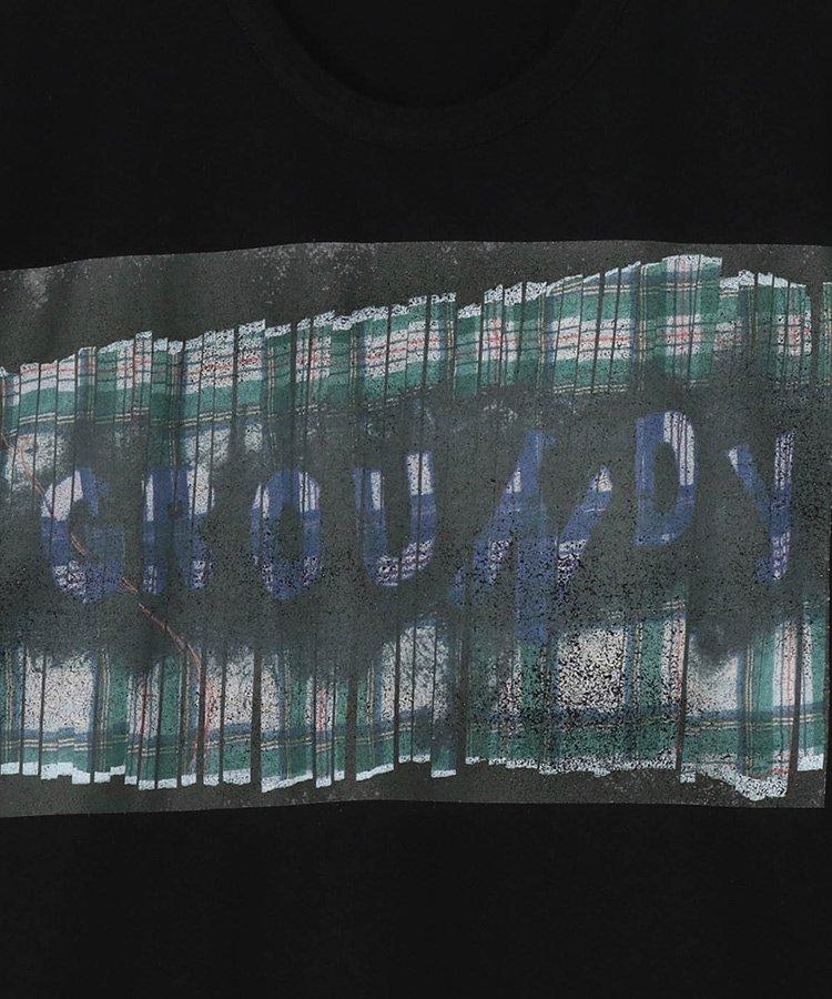 Check & Message Graphic Logo Black x Green Plaid B / ブラック [GT-T35-015-2-02]