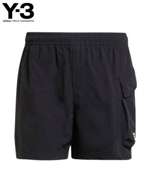 <img class='new_mark_img1' src='https://img.shop-pro.jp/img/new/icons5.gif' style='border:none;display:inline;margin:0px;padding:0px;width:auto;' />Y-3 M UTILITY SWIM SHORTS / ブラック [GT5256]