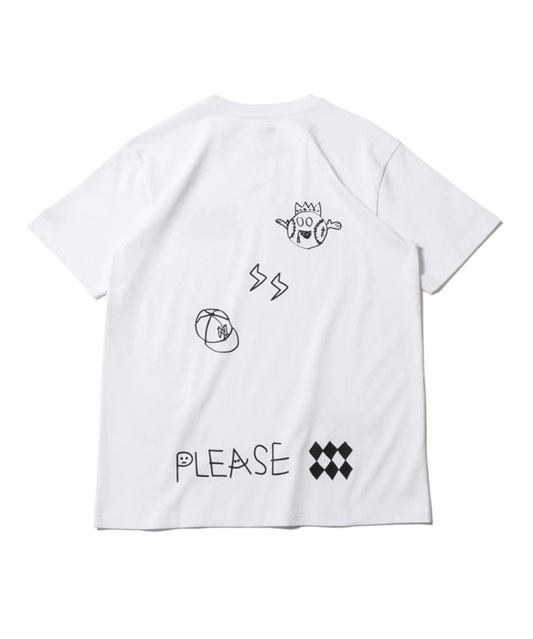 <img class='new_mark_img1' src='https://img.shop-pro.jp/img/new/icons61.gif' style='border:none;display:inline;margin:0px;padding:0px;width:auto;' />半袖 コットン Tシャツ オールオーバー マルチロゴ レギュラーフィット / 2カラー