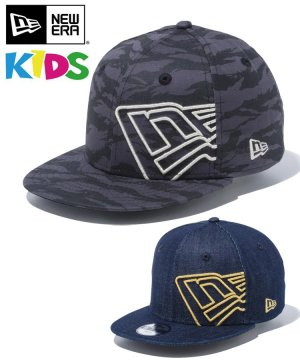<img class='new_mark_img1' src='https://img.shop-pro.jp/img/new/icons61.gif' style='border:none;display:inline;margin:0px;padding:0px;width:auto;' />Kid's Youth 9FIFTY バタリオン フラッグロゴ / 2カラー