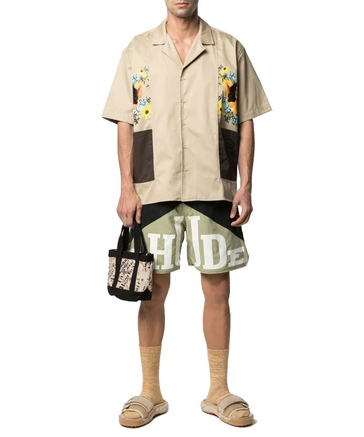 <img class='new_mark_img1' src='https://img.shop-pro.jp/img/new/icons5.gif' style='border:none;display:inline;margin:0px;padding:0px;width:auto;' />CIGAR SHIRT / タン×ブラウン[RHPS21SS00000003]