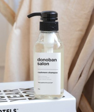 ≪配合ダメージ補修と頭皮環境の改善≫ Cashmere Shampoo Donoban salon 300mL