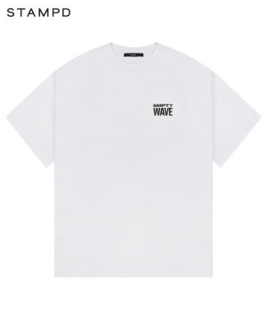 <img class='new_mark_img1' src='https://img.shop-pro.jp/img/new/icons5.gif' style='border:none;display:inline;margin:0px;padding:0px;width:auto;' />EMPTY WAVE RELAXED TEE / ホワイト [SLA-M2707TE]