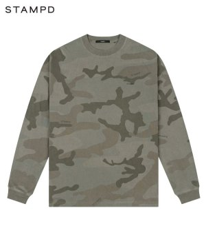 <img class='new_mark_img1' src='https://img.shop-pro.jp/img/new/icons5.gif' style='border:none;display:inline;margin:0px;padding:0px;width:auto;' />CAMO PALM RELAXED LS TEE / ダークカモ [SLA-M2710LT]