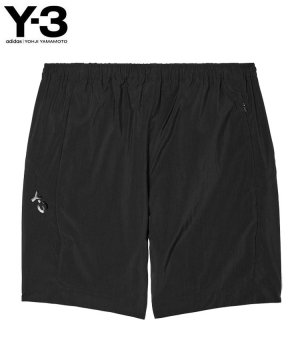 <img class='new_mark_img1' src='https://img.shop-pro.jp/img/new/icons5.gif' style='border:none;display:inline;margin:0px;padding:0px;width:auto;' />Y-3 M CLASSIC LIGHT SHELL RUNNING SHORTS / ブラック [HB2784]