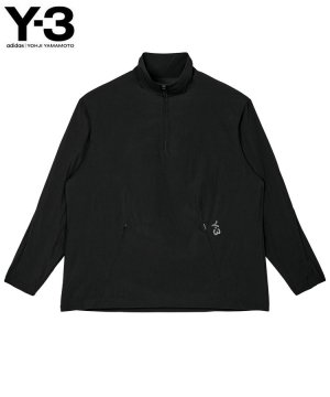 <img class='new_mark_img1' src='https://img.shop-pro.jp/img/new/icons5.gif' style='border:none;display:inline;margin:0px;padding:0px;width:auto;' />Y-3 M CLASSIC LIGHT SHELL RUNNING LONG SLEEVE TEE / ブラック [HB2788]