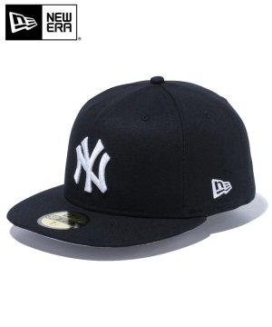 59FIFTY ダックキャンバス ニューヨーク・ヤンキース / ブラック × スノーホワイト [12326426]