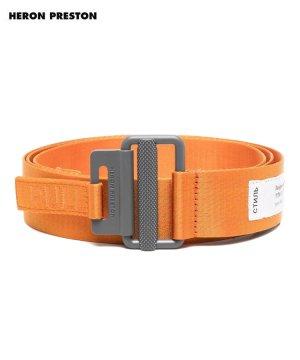 <img class='new_mark_img1' src='https://img.shop-pro.jp/img/new/icons5.gif' style='border:none;display:inline;margin:0px;padding:0px;width:auto;' />TAPE BELT 4CM CLASSIC BUCKLE / オレンジ [HMRF21-186]