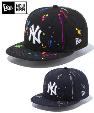 9FIFTY ニューヨーク・ヤンキース スプラッシュエンブロイダリー / 2カラー
