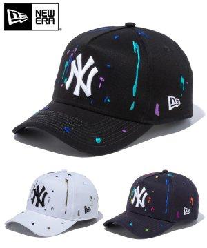 9FORTY A-Frame ニューヨーク・ヤンキース スプラッシュエンブロイダリー / 3カラー