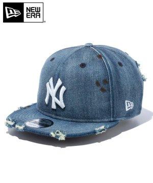 9FIFTY ニューヨーク・ヤンキース ダメージドデニム / ウォッシュドデニム [12853863]