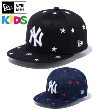 <img class='new_mark_img1' src='https://img.shop-pro.jp/img/new/icons61.gif' style='border:none;display:inline;margin:0px;padding:0px;width:auto;' />Kid's Youth 9FIFTY ニューヨーク・ヤンキース スターズ / 2カラー