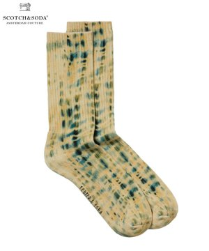 <img class='new_mark_img1' src='https://img.shop-pro.jp/img/new/icons5.gif' style='border:none;display:inline;margin:0px;padding:0px;width:auto;' />Printed ribbed socks / マルチ [282-49900]
