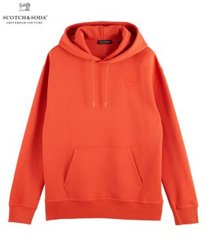 <img class='new_mark_img1' src='https://img.shop-pro.jp/img/new/icons5.gif' style='border:none;display:inline;margin:0px;padding:0px;width:auto;' />Graphic detail cotton-blend hoodie / チリペッパー [282-43804]