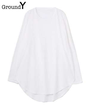 <img class='new_mark_img1' src='https://img.shop-pro.jp/img/new/icons5.gif' style='border:none;display:inline;margin:0px;padding:0px;width:auto;' />30/Cotton Jersey Jumbo Round Long Sleeves Cut Sew / ホワイト [GM-T15-040-1-03]