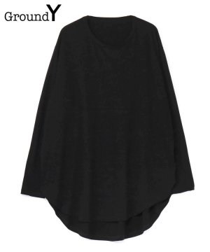 <img class='new_mark_img1' src='https://img.shop-pro.jp/img/new/icons5.gif' style='border:none;display:inline;margin:0px;padding:0px;width:auto;' />30/Cotton Jersey Jumbo Round Long Sleeves Cut Sew / ブラック [GM-T15-040-3-03]