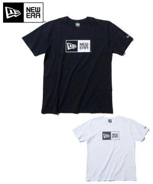 半袖 コットン Tシャツ ボックスロゴ レギュラーフィット / 2カラー