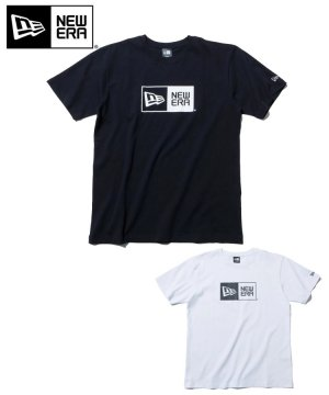 <img class='new_mark_img1' src='https://img.shop-pro.jp/img/new/icons61.gif' style='border:none;display:inline;margin:0px;padding:0px;width:auto;' />半袖 コットン Tシャツ ボックスロゴ レギュラーフィット / 2カラー