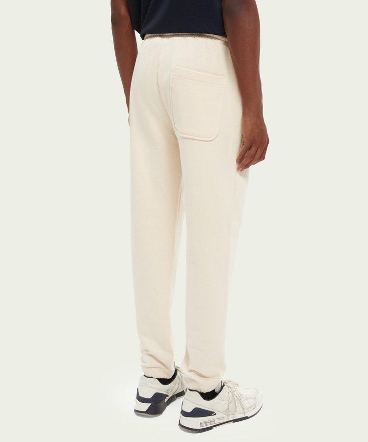 Unisex organic cotton  sweatpants / オフホワイト [292-43550]