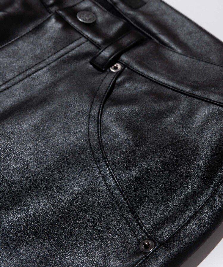 PU leather pants / ブラック [GB0321/P05]