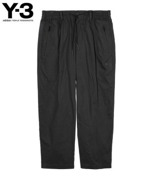 <img class='new_mark_img1' src='https://img.shop-pro.jp/img/new/icons5.gif' style='border:none;display:inline;margin:0px;padding:0px;width:auto;' />Y-3 M WAXED RIPSTOP UTILITY PANTS / ブラック [HB3321]