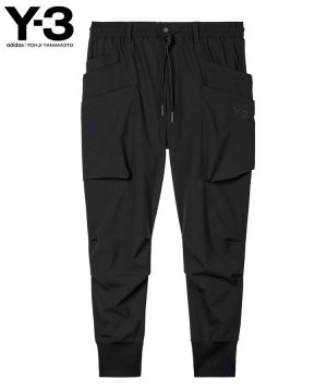 <img class='new_mark_img1' src='https://img.shop-pro.jp/img/new/icons5.gif' style='border:none;display:inline;margin:0px;padding:0px;width:auto;' />Y-3 M CLASSIC RIPSTOP UTILITY PANTS / ブラック [HB3425]