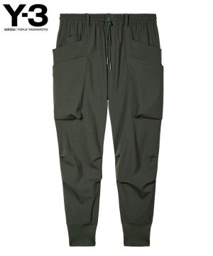 <img class='new_mark_img1' src='https://img.shop-pro.jp/img/new/icons5.gif' style='border:none;display:inline;margin:0px;padding:0px;width:auto;' />Y-3 M CLASSIC RIPSTOP UTILITY PANTS / シャドーグリーン [HB3427]