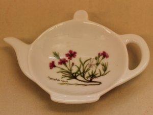 ティーパックトレー 赤花