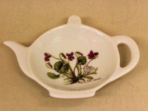 ティーパックトレー 紫花