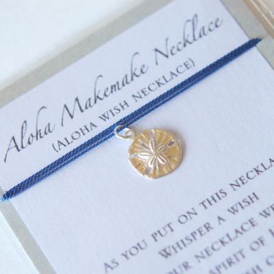 Aloha Makemake Necklace/アロハウィッシュネックレス【シェル/ブルー】