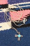 VINTAGE FRED HARVEY STYLE CROSSED ARROW PENDANT NECKLACE
