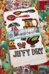 DEAD STOCK 60'S JIFFY-DRY TERRY DISH TOWEL (DUTCH)