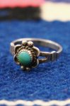 VINTAGE BELL TRADING TURQUOISE SILVER RING