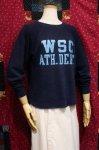 70'S CHAMPION COLLAGE PRINT SWEATSHIRTS (NVY/S.BLE)