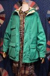 80'S WOOLRICH MOUNTAIN PARKA (MADE IN USA/L.GRN)