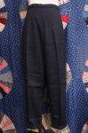 DEAD STOCK 60'S Jeanie WOOL TEXTURE CIGARETTE PANTS (C.GRY)