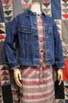 80'S Lee BOY'S DENIM JACKET (MADE IN USA・D.BLE)