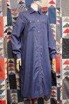 70'S FULL SNAP SHIRT DRESS (S.BLE)