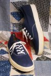 DEAD STOCK 50'S CANVAS SNEAKERS (NVY)