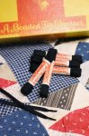 DEAD STOCK Beaded Tip METAL AGLET SHOE LACES 27INCH (BLK)