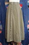 50'S OVER DYED COTTON UNIFORM OVER SKIRT (OD)