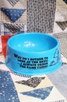 VINTAGE 70'S SNOOPY SUPPERTIME DISH PLASTIC FOOD BOWL (TQ)