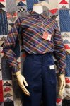 DEAD STOCK 60'S McGREGOR BIAS CHECK B.D POLO SHIRTS (NVY/GRN)